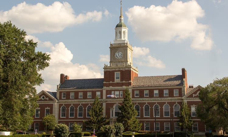 howard university founder's library campus