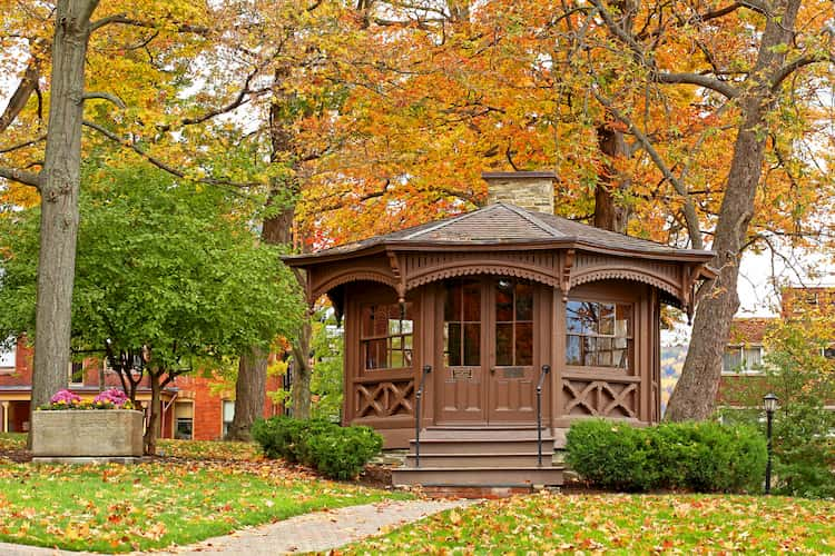 Mark Twain home gazebo