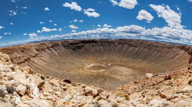 Meteor Crater Park in Arizona