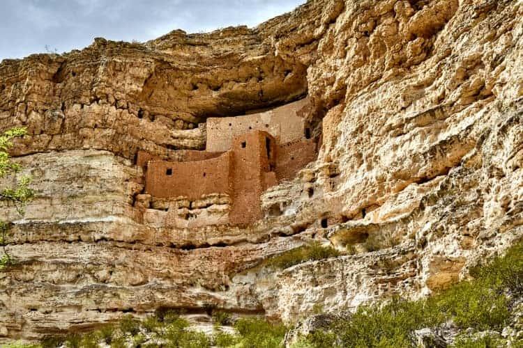 Montezuma Castle and Wall in Arizona near Phoenix