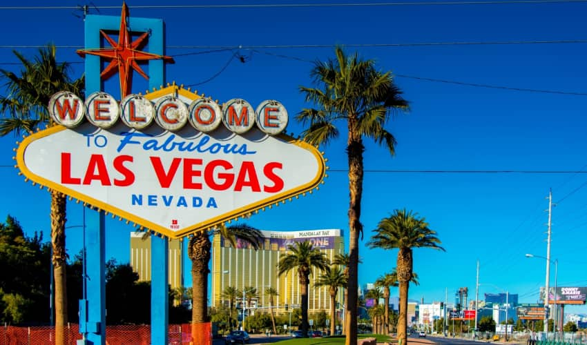 "the ""Welcome to Fabulous Las Vegas, Nevada"" in Las Vegas"
