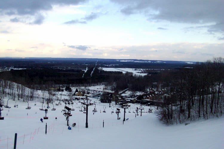 Crystal Mountain skiing