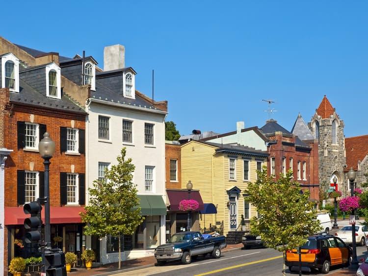 Buildings in Georgetown