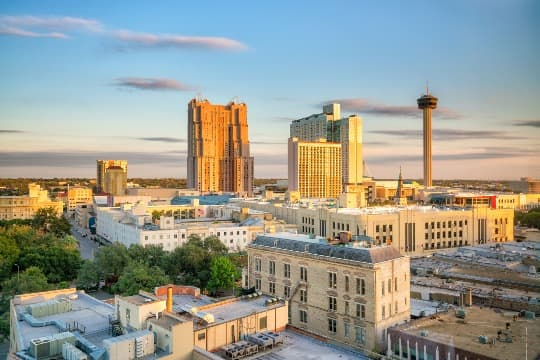 The Downtown San Antonio skyline
