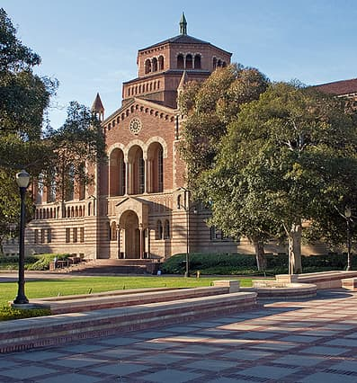 Powell Library at UCLA