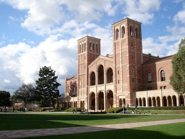 Royce Hall on the UCLA campus.