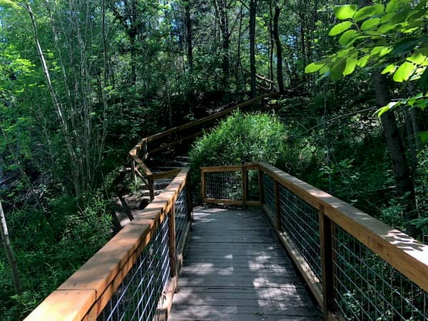 Walking path in McKinney Falls State Park