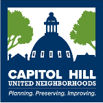 Capitol Hill United Neighborhoods logo