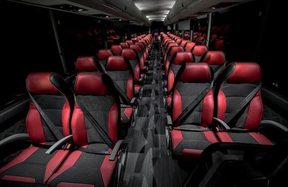 X3-45 commuter bus with comfortable seats