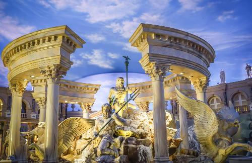 caesar's palace las vegas statues