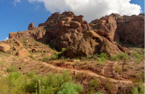 echo canyon recreational area at camelback mountain