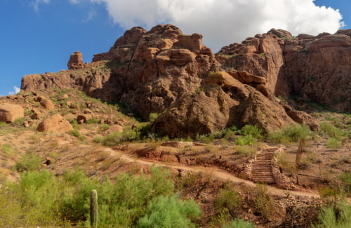 echo canyon recreational area at camelback mountain