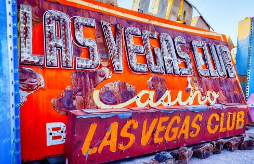 neon museum sign in las vegas