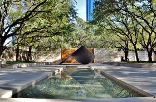 Art in the Nasher Sculpture Garden at the Dallas Museum of Art
