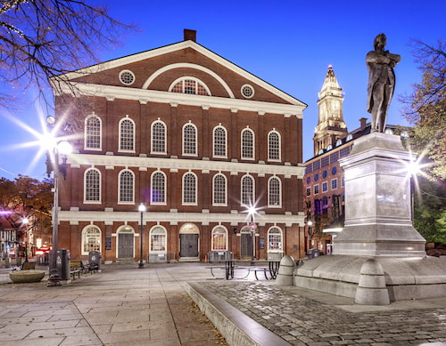 Faneuil Hall along the Boston Freedom Trail