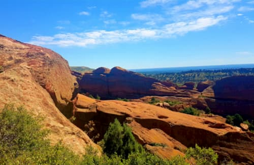 View of Red Rocks Canyon