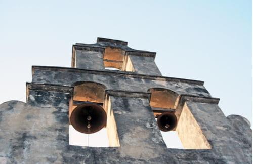 the alamo church bells
